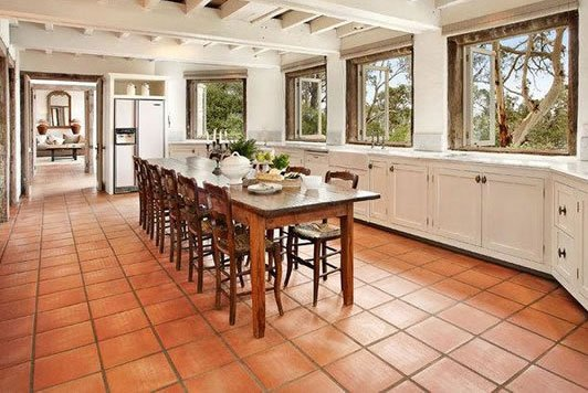 Types of floor tiles for kitchen