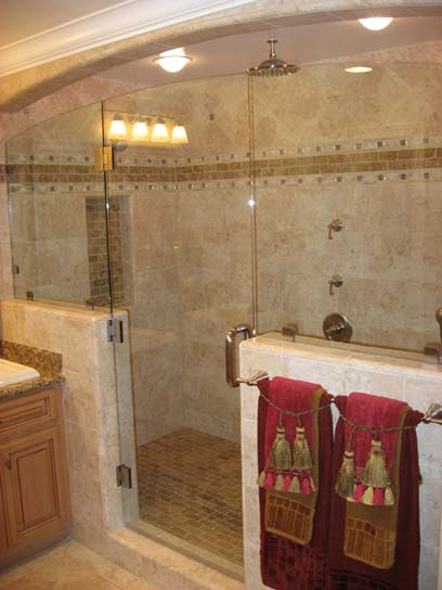 Tile Flooring San Diego options for natural stone showers