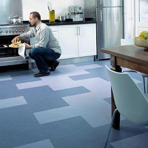 San Marcos Flooring Is A Good Fit For The Kitchen.