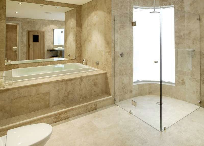 limestone bathroom floor spoilt for choice 5 modern types of bathroom flooring 13496