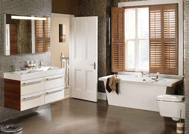 recommended flooring for bathrooms spoilt for choice 5 modern types of bathroom flooring 20113
