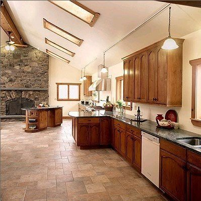 flooring tiles in the kitchen - Durable Kitchen Flooring