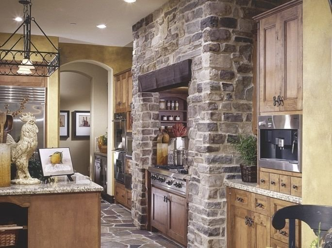 Interior Stone Veneer Natural Stone Kitchen Counters