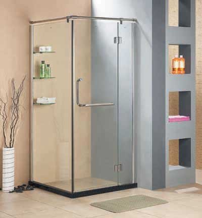 Low Maintenance Bathroom With A Shower Cubicle
