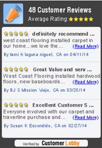 Customer Flooring Reviews