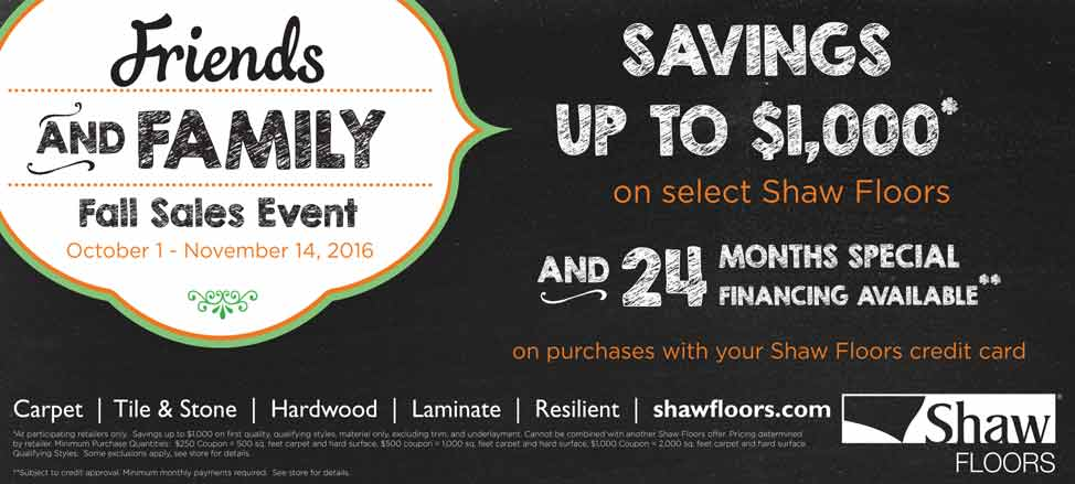 Shaw Saving Up To Tile Laminate Carpet San Diego Vista - Shaw flooring financing